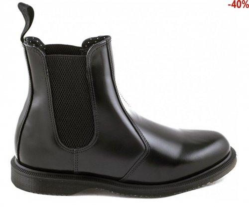 Sztyblety Dr. Martens FLORA Black Polished 14649001