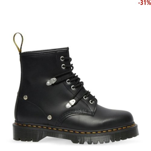 Buty Dr. Martens 1460 BEX STUD Black Fine Haircell 26959001