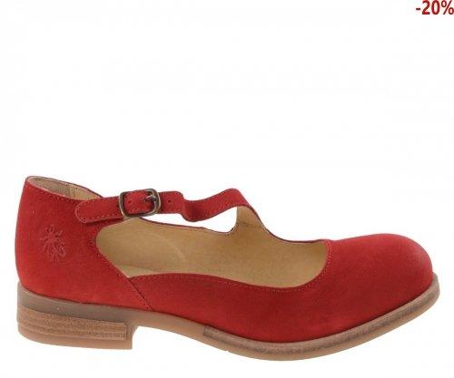 Półbuty Fly London ALKY 213 Lipstick Red Cupido P144213002