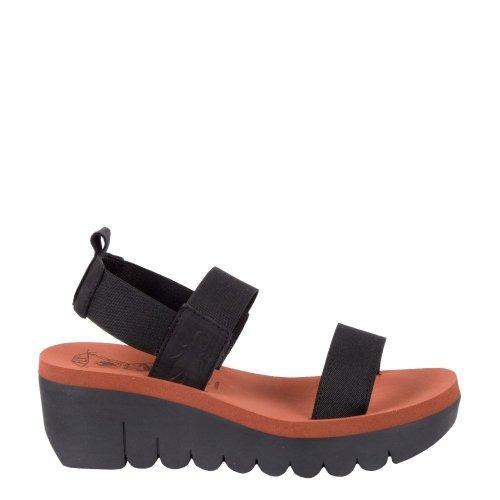 Sandały Fly London YACI 594 Black Brick Cupido P144594000