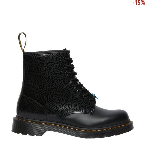 Buty Dr. Martens 1460 KEITH HARING Black Multi Smooth 26832001