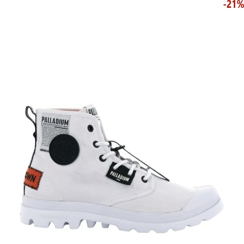Buty Palladium PAMPA LITE OVERLAB White 76639100