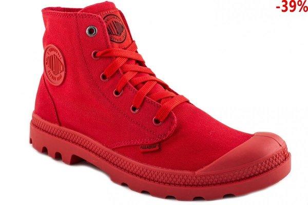 Buty Palladium MONOCHROME Red 73089600