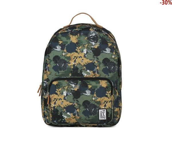 Plecak The Pack Society CLASSIC BACKPACK GREEN CAMO 181CPR702.74