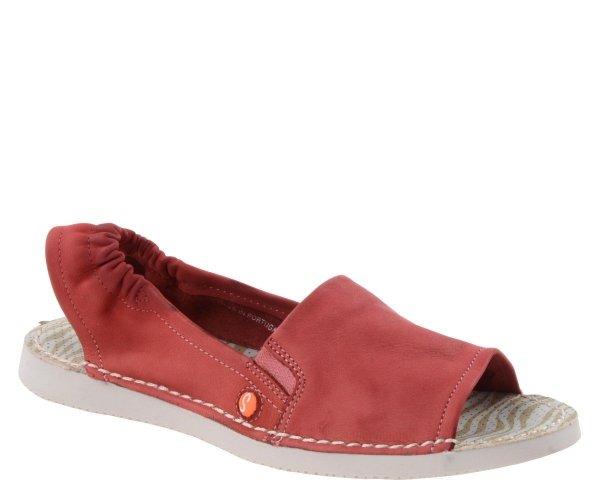 Sandały Softinos TEE 430 Red Washed P900430002