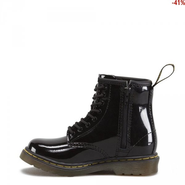 Buty Dr. Martens TODDLER 1460 Black Patent Pamper 15373003