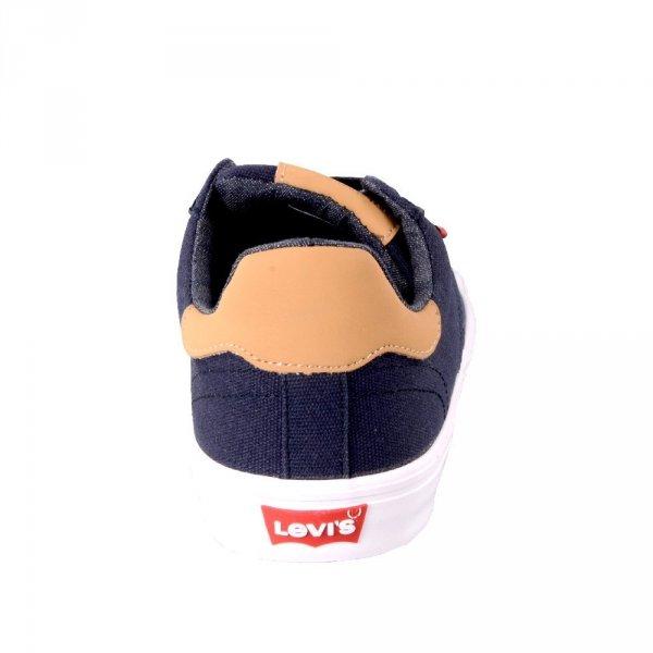 Sneakersy Levi's SKINNER Navy Blue 227833191917