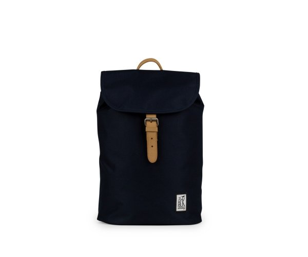 Plecak The Pack Society SMALL BACKPACK SOLID MIDNIGHT BLUE 999CLA700.26