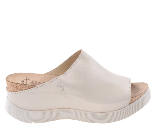 Klapki Fly London WIGG672 OffWhite Mousse P143672009