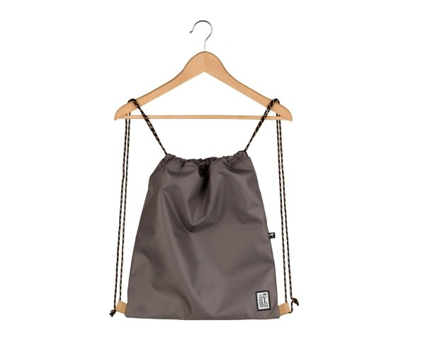 Worek The Pack Society GYMSACK SOLID CHARCOAL 999CLA799.03