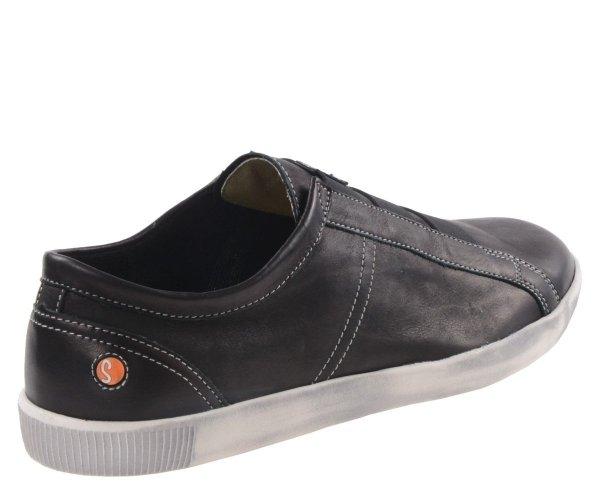 Półbuty Softinos TIP 457 Black Smooth P900457004