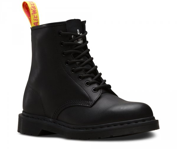 DR. MARTENS 1460 SXP BLACK SEX PISTOLS Milled Greasy + Backhand 24787001