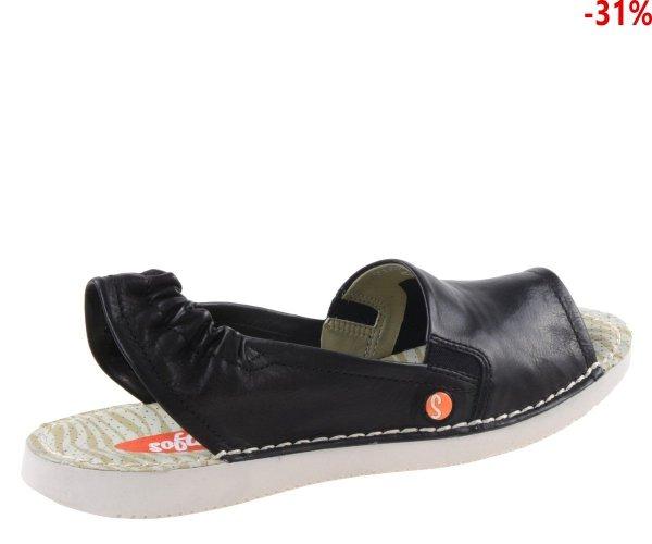 Sandały Softinos TEE 430 Black Smooth P900430008