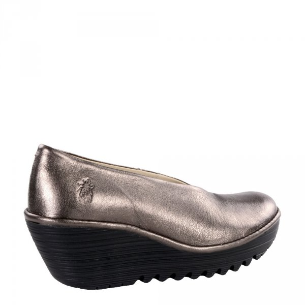 Czółenka Fly London YAZ Bronze Idra (Black Sole) P500025233