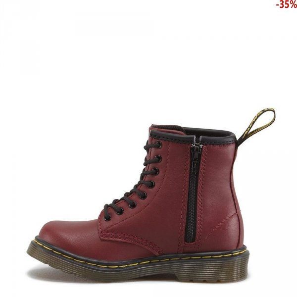 Buty Dr. Martens TODDLER 1460 Cherry Red Softy T 15373601