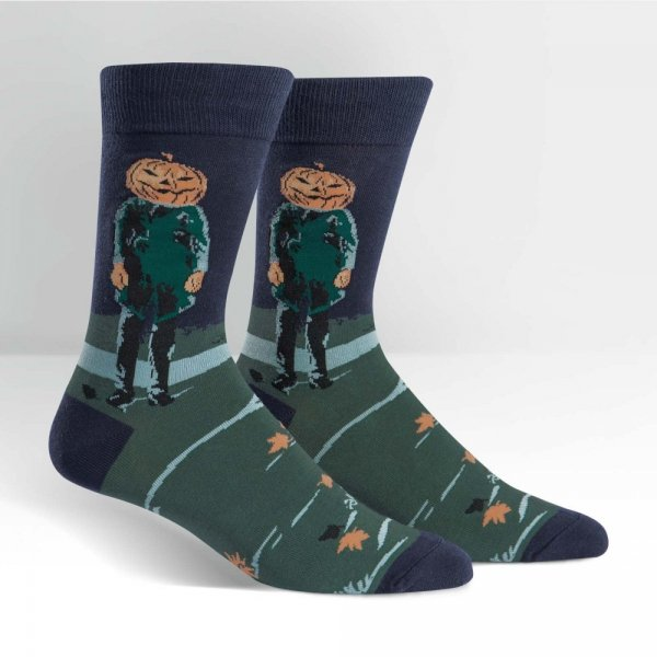 Skarpety męskie Sock It To Me Pumpkin Head MEF0159