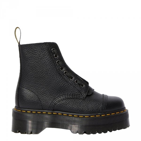 Buty Dr. Martens SINCLAIR Black Aunt Sally 22564001
