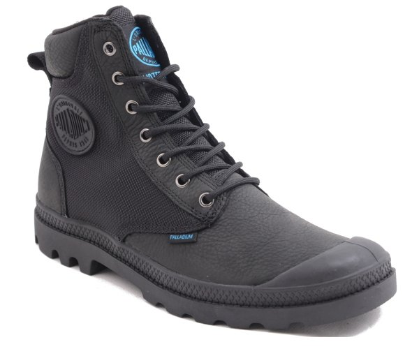 Trapery Palladium PAMPA SPORT CUFF WPN Black 73234001 WATERPROOF
