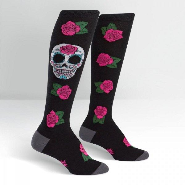 Skarpety damskie Sock It To Me SUGAR SKULL