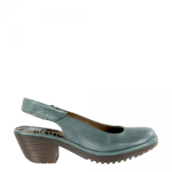 Sandały Fly London WURT 020 Jade Green Janeda P501020005