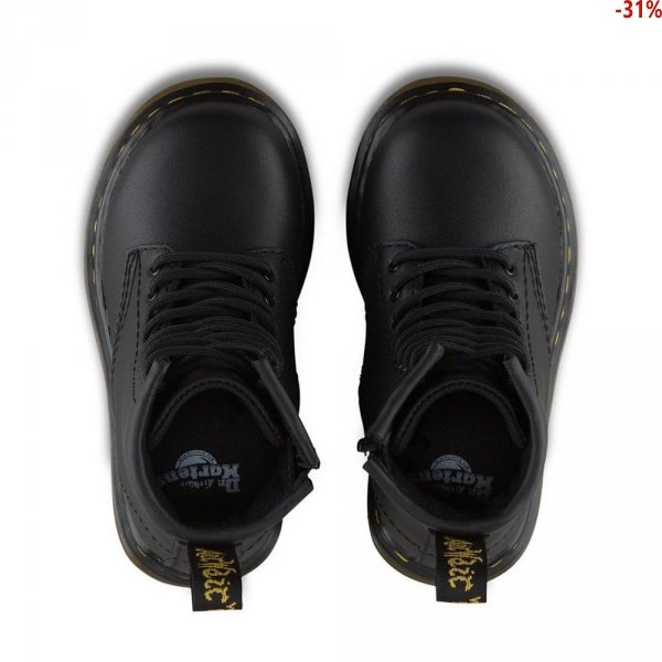 Buty Dr. Martens TODDLER 1460 Black Softy T 15373001