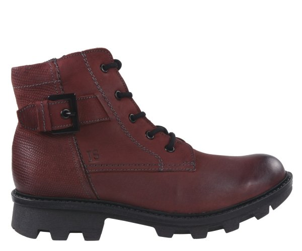 Botki Josef Seibel MARYLIN 03 Bordo Ocieplane