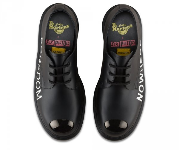Półbuty Dr. Martens 1925 SXP Black Smooth Sex Pistols 24790001