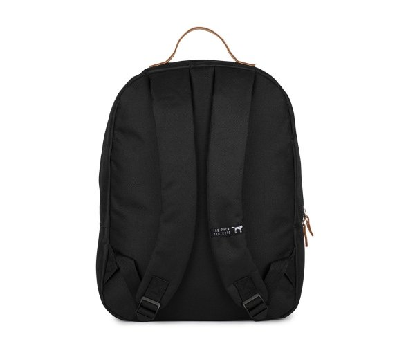 Plecak The Pack Society CLASSIC BACKPACK SOLID BLACK 999CLA702.01
