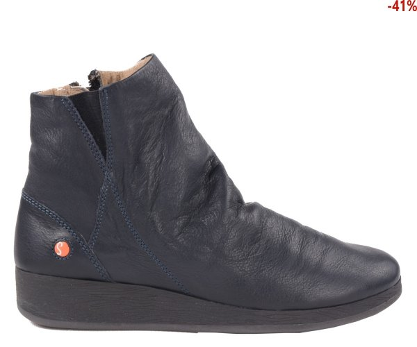 Botki Softinos AYO 411 Navy Smooth Lea