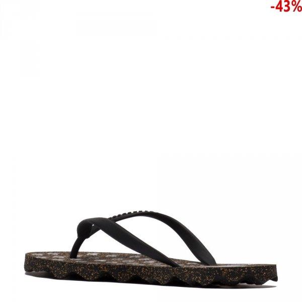 Klapki Asportuguesas TURTLE Black Black P018056001