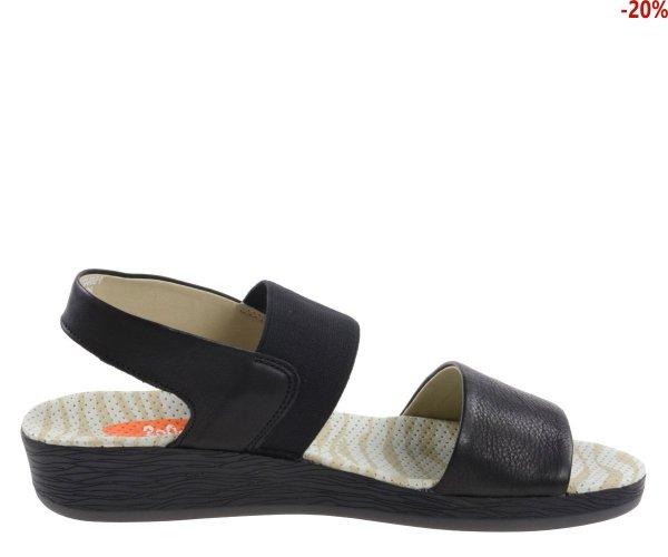 Sandały Softinos ALP 425 Black Smooth P900425000