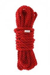 BLAZE DELUXE BONDAGE ROPE 5M RED