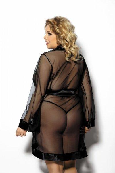 Maerin XL+ (robe black/szlafrok czarny)