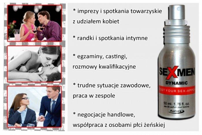 Feromony-Sexmen Dynamic 50 ml for men