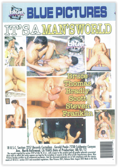 DVD-IT'S A MAN'S WORLD