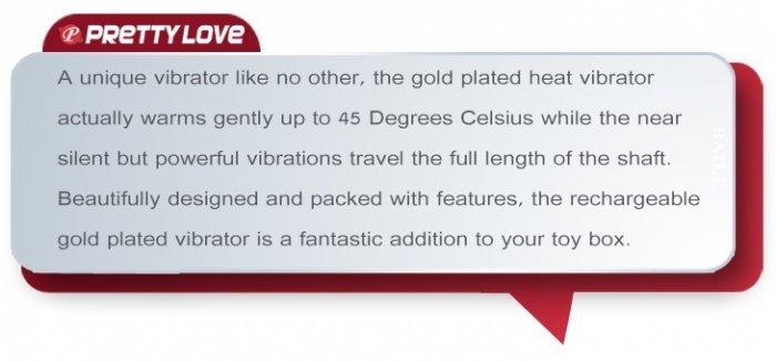 PRETTY LOVE - FLAMINGO, 7 function, warming mode, USB