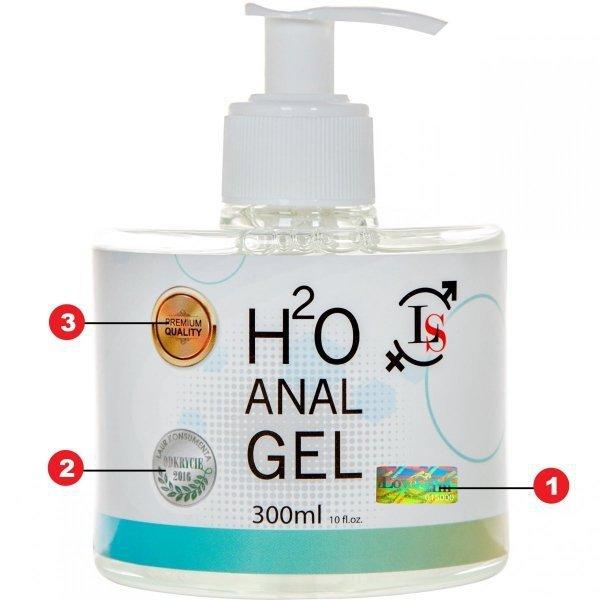 H2O anal Gel 300ml żel analny na bazie wody