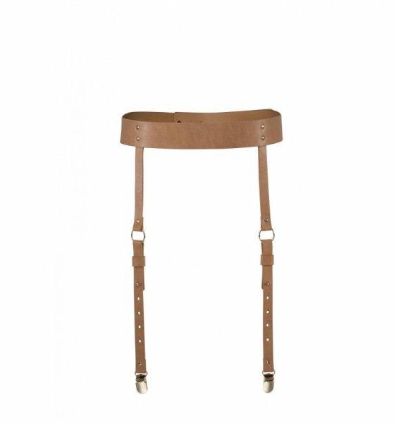 Bijoux Indiscrets - MAZE Suspender Belt Brown