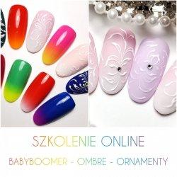 Babyboomer, Ombre, Ornamenty - Szkolenie ONLINE