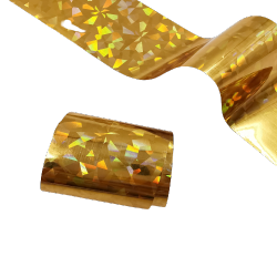 Transfer Nagelfolie GOLD GLAS