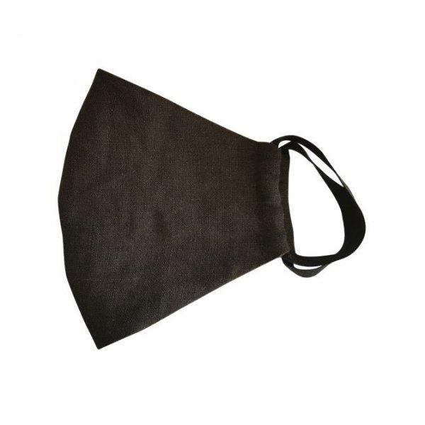 Mundschutz Maske ( waschbare ) BLACK Größe M - für Männer