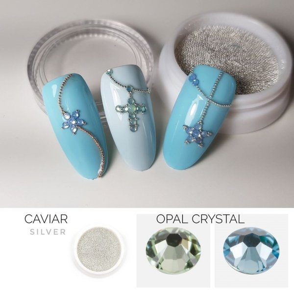 Opal Crystals SS6 GREEN 50st.