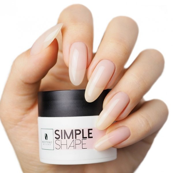 SIMPLE SHAPE Cover Pink 50ml - Mistero Milano