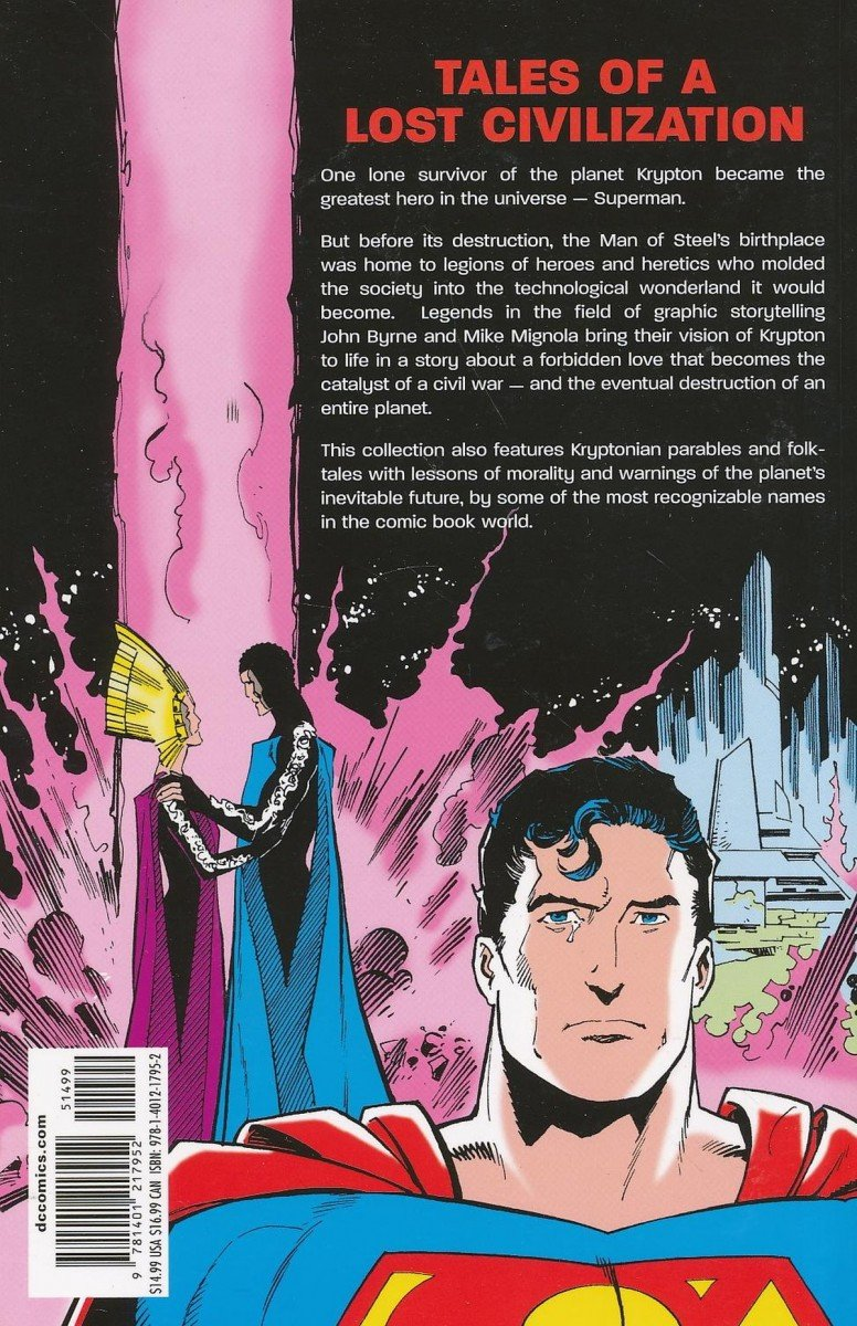 SUPERMAN THE WORLD OF KRYPTON SC (Oferta ekspozycyjna)