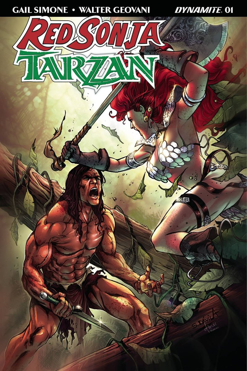 RED SONJA TARZAN #1 CVR E SUBSCRIPTION DAVILA