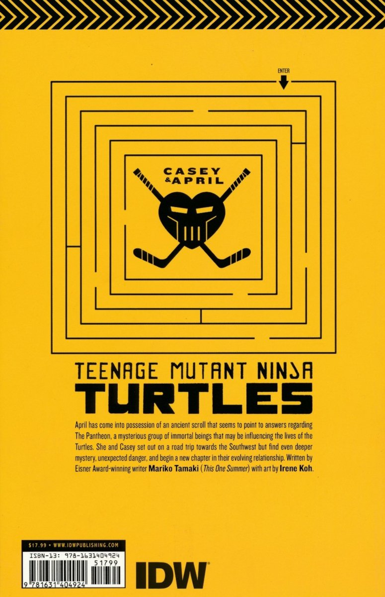 TMNT CASEY AND APRIL TP