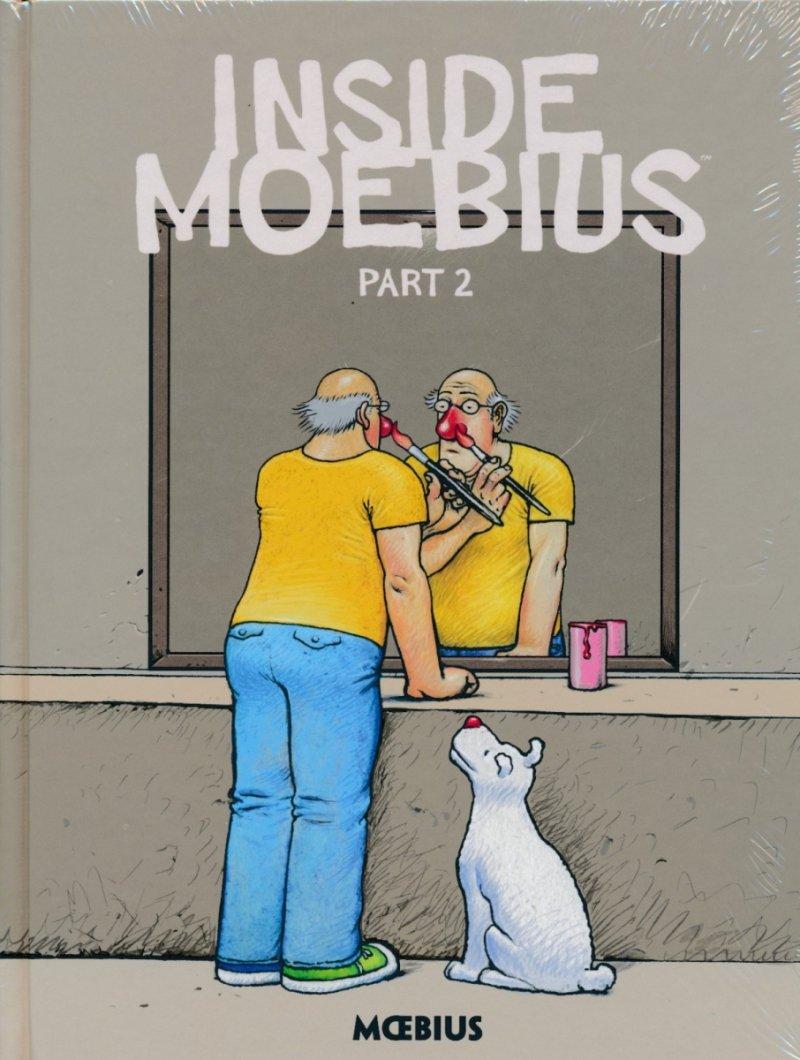 MOEBIUS LIBRARY INSIDE MOBIUS HC VOL 02 (Oferta ekspozycyjna)