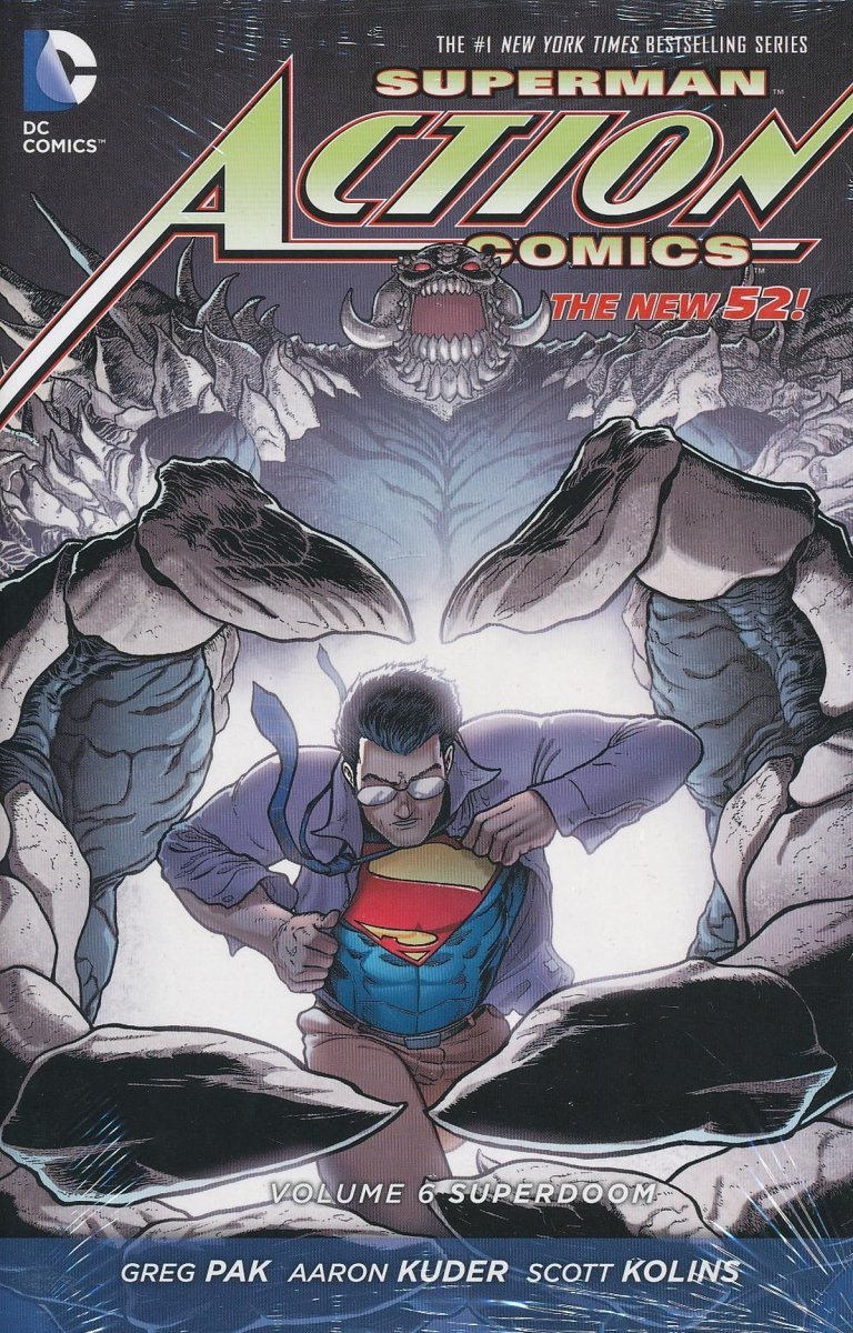 SUPERMAN ACTION COMICS VOL 06 SUPERDOOM HC (Oferta ekspozycyjna)