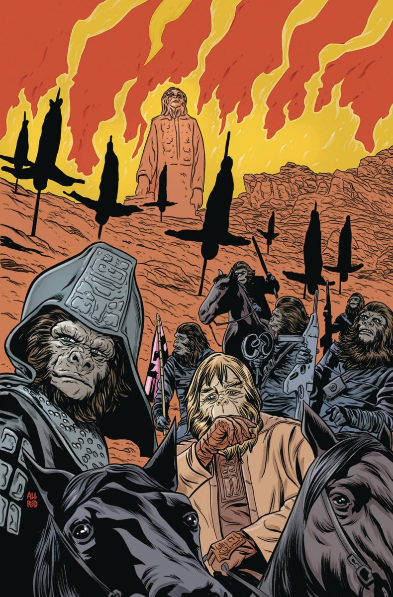 PLANET OF THE APES URSUS #5 MAIN & MIX