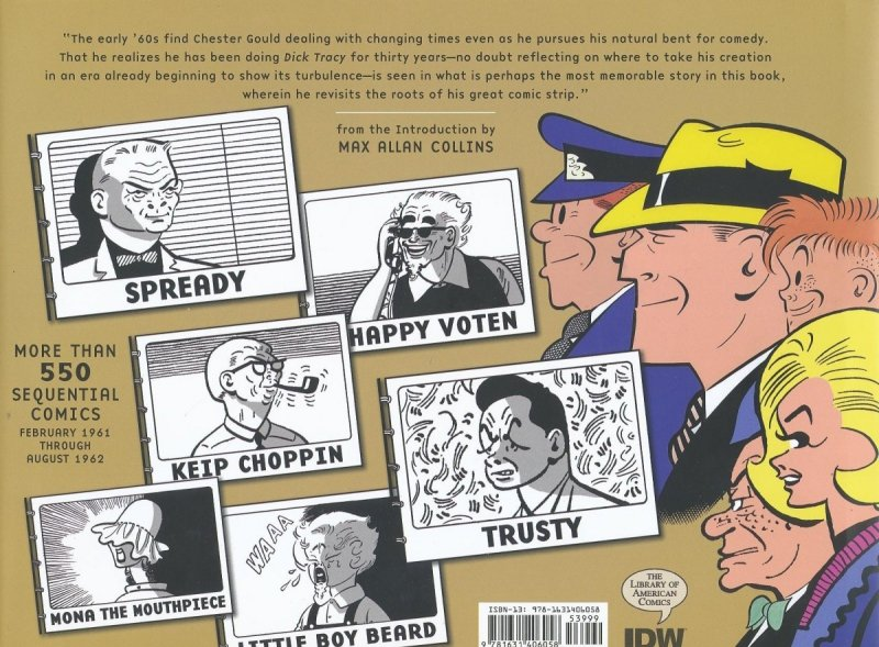 COMPLETE CHESTER GOULD DICK TRACY HC VOL 20